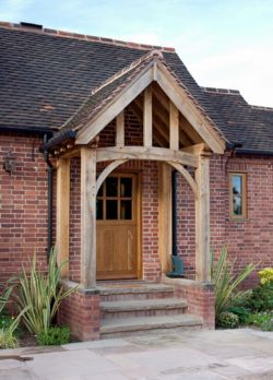 Ste mar what we 39 ve done for Porch designs for bungalows uk